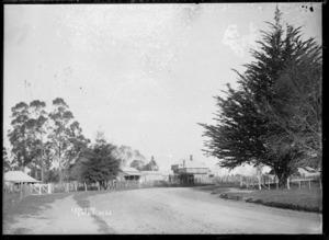 Lyon Street, Kihikihi, circa 1912