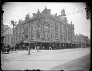 Victoria Arcade, on the corner of Queen and Shortland Streets, Auckland