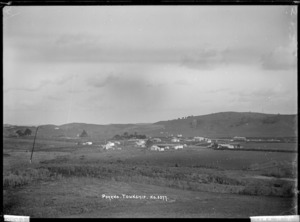 General view of Pokeno township