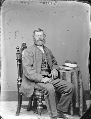 Photograph of Mr I Slight, Wanganui district