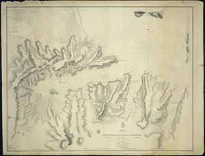 Port Cooper, Port Levy and Pigeon Bay [cartographic material] / surveyed by J.L. Stokes, 1849.