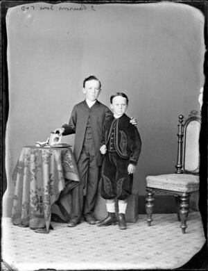 Sons of J Pawson-Photograph taken by Thompson & Daley of Whanganui