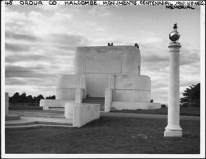 Manawatu Centennial Monument, Halcombe