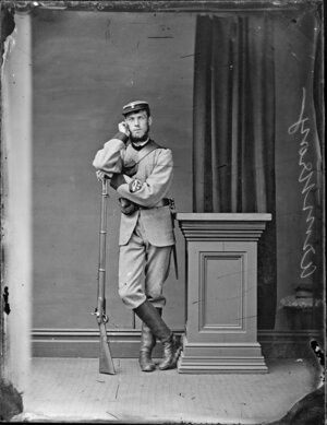 Armstrong, man in military uniform