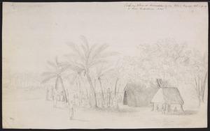 Ellis, William Wade, d 1785 :Trading place at Anamokka or New Rotterdam Isles [May 1777]