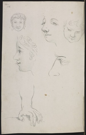 Ellis, William Wade, d 1785 :[Sketches of people. Between 1775 and 1779]