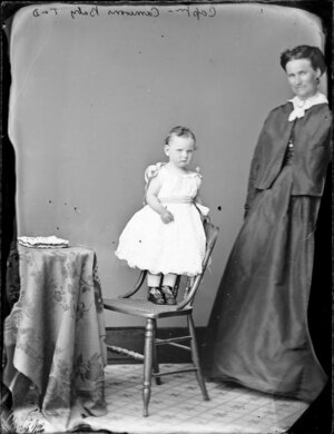 Cameron family baby - Photograph taken by Thompson & Daley