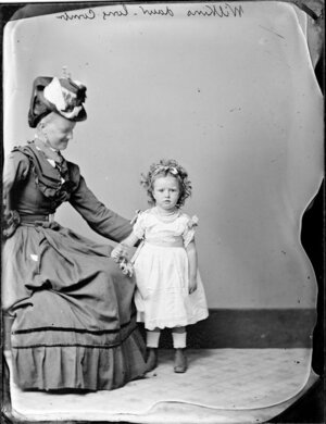 Mrs Wilkins and her daughter