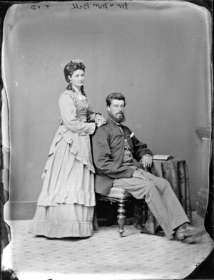 Mr and Mrs Bell - Photograph taken by Thompson & Daley of Wanganui