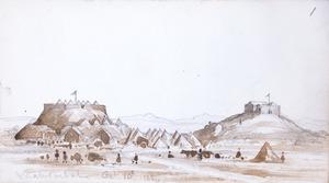 Warre, Henry James 1819-1898 :Mahohitahi [sic] Oct. 10th 1864.