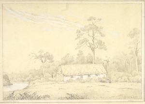 Smith, William Mein, 1799-1869 :Whare Kaka. [1840s?]