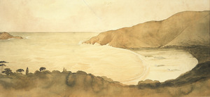 Fox, William 1812-1893 :Ocean Bay [Port Underwood. January 1848?]