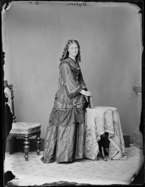 [Miss] Wyborn - Photograph taken by Thompson & Daley