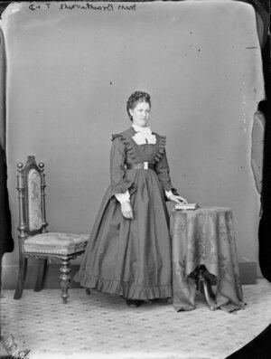 Miss Braithwaite - Photograph taken by Thompson & Daley