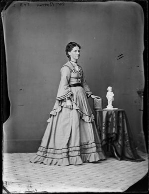 Mrs Barnes - Photograph taken by Thompson and Daley