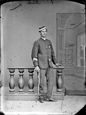 Mr Blake, in military uniform