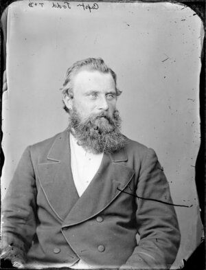 Captain Richard Todd - Photograph taken by Thompson & Daley of Whanganui