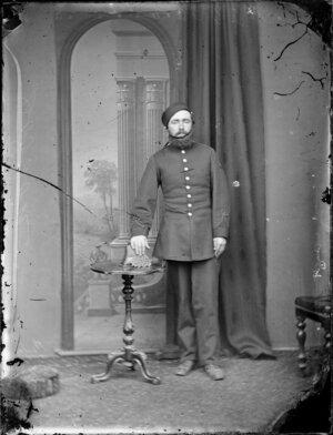 Mr Dodson in uniform
