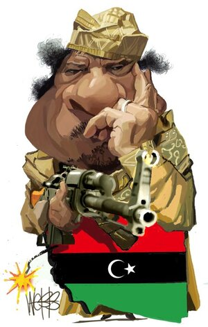 [Colonel Gaddafi]. 22 February 2011
