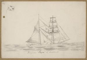 "[Munro, John Alexander] 1872-1947 :Brigantine ""Ryno"" of Auckland. [n.d.]"