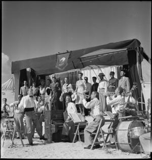 Kiwi concert party, El Alamein, Egypt