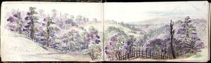 Warre, Henry James, 1819-1898 :From Kaihiatea beyond Matuitaura. Oct 15 1864