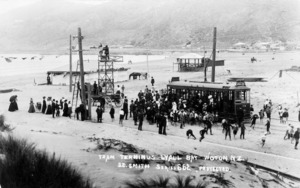 Tram terminus, Lyall Bay, Wellington