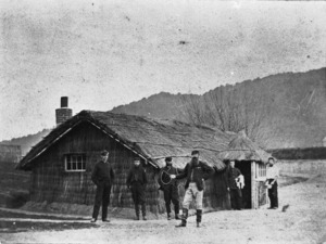 Soldiers of the 12th Regiment at Ngaruawahia