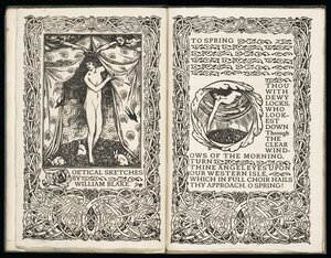 [P]oetical sketches / by William Blake ; [with decorations designed and cut on the wood by Charles Ricketts].