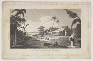 [Hodges, William], 1744-1797 :A view in the island of Rotterdam [London? 18--?]