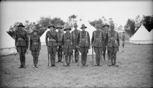 Group of soldiers at Waiouru Army Training Camp