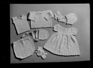 Knitted layette