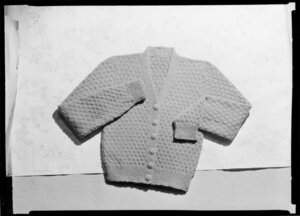 Knitted child's cardigan