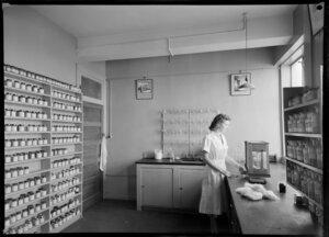 Interior of lab at Kelvin Chambers