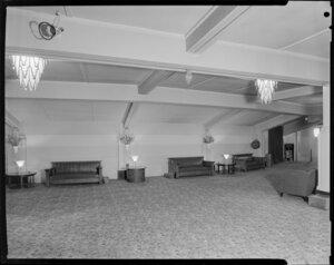 Empty foyer, Majestic Theatre, Wellington
