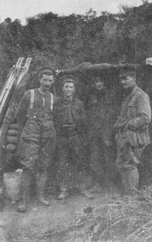 Captain Withers and staff, Gallipoli, Turkey