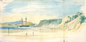 [Ashworth, Edward] 1814-1896 :St Georges Bay, Auckland [1844]