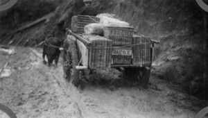 Mail delivery cart, Chatham Islands