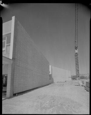 Construction site [Vibrapac?], Porirua, Wellington