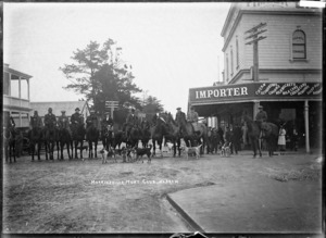 Morrinsville Hunt Club, ca 1916