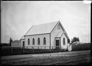 Presbyterian Church at Morrinsville, ca 1916
