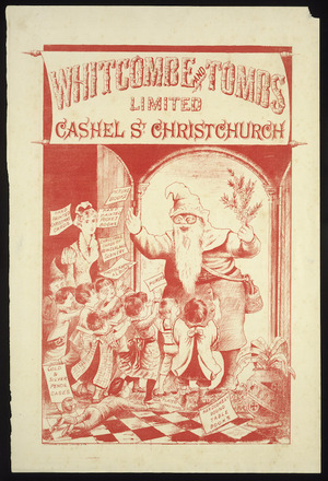 Whitcombe & Tombs Ltd :Whitcombe and Tombs Limited, Cashel St, Christchurch. Whitcombe & Tombs Limited, lith. [1886]