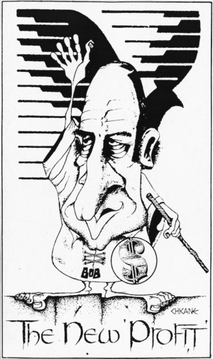 Winter, Mark, 1958- :The new profit. Southland Times, 21 December 1983.