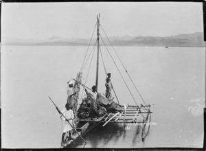 Fijian canoe