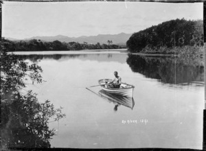 Boating on the Ba River, Viti Levu, Fiji
