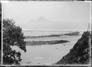 Whakatane Harbour, with Moutuhora Island in the distance