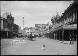 Lambton Quay, Wellington