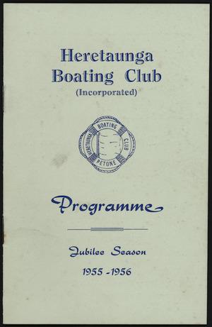 Programme cover - Jubilee season