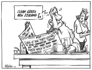 "Hubbard, James, 1949- : ""Clean greed New Zealand?."" 14 April 2011"