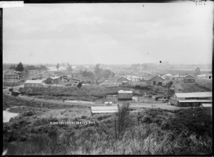 View over Huntly, ca 1910s